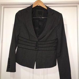 The Limited Black Pin Dot Blazer Jacket Size 6